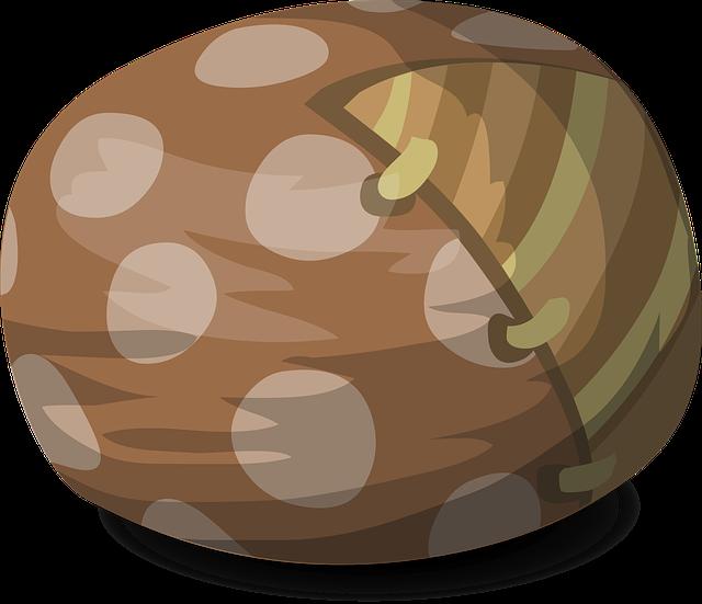 hnědý bean bag