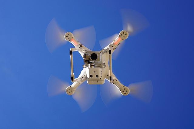 nebe nad dronem